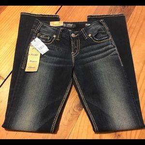 Fluid Denim Bootcut jeans.
